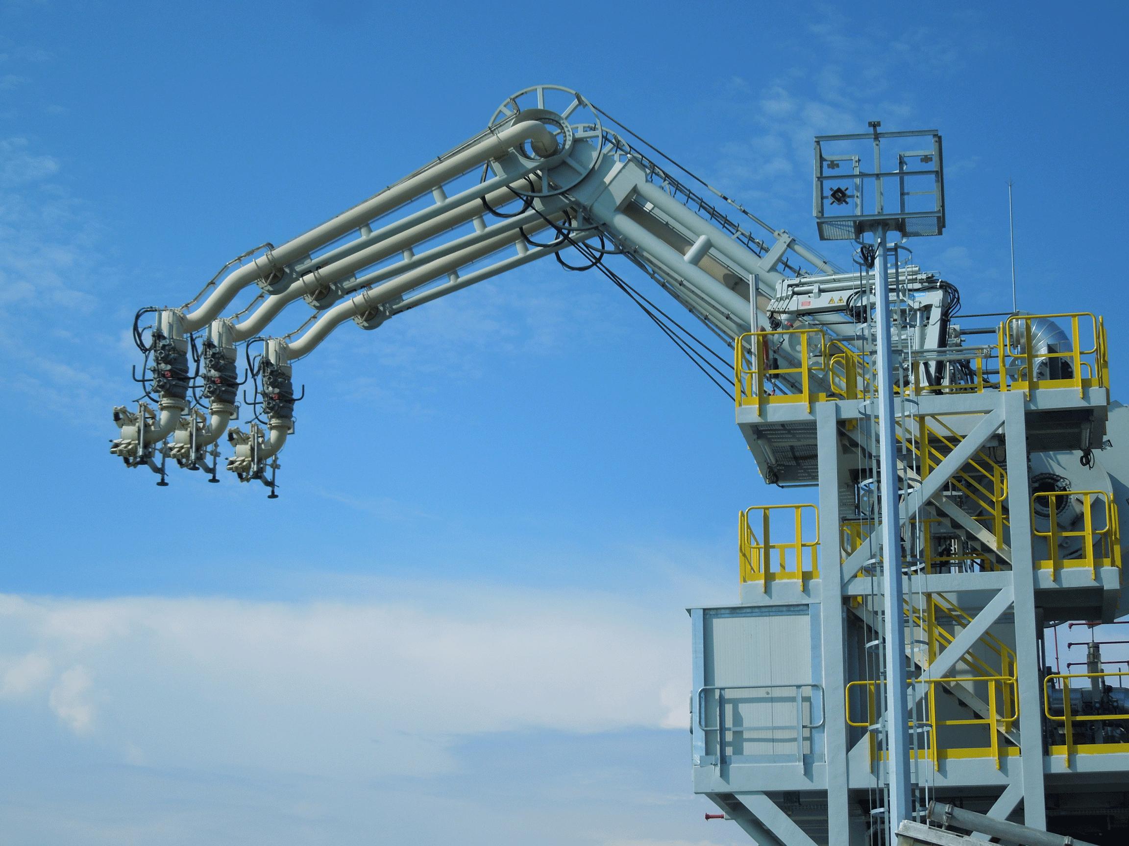 Verladetechnik ARCTIC Schiffsverlader